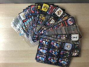 Topps Match Attax 2019/20  Champions League complete team set from base cards