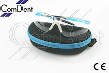 Safety Eye Wears Glasses Goggles anti fog scratch resistant, dental lab, BLUE