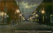 C-1910 Night Lights Marietta Excelsior Springs Missouri Smith Syndicate 11642