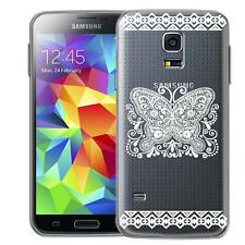 Protective Case Samsung Galaxy S5 Mini Silicone Case Phone Case Mandala Cover