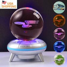 Star Trek Crystal ball 3D Home Decor Night Light LED Desk Table Lamp KID Gift US