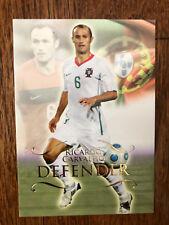 2011 Unique Futera Soccer Card - Portugal CARVALHO Mint