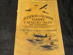 Vintage 1929 Aviation and Marine Supply Catalog No.29