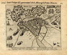 Antique Print-HERTOGENBOSCH-NETHERLANDS-Baudartius-1616