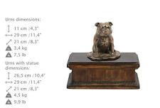 Staffy 3, dog exclusive urn made of cold cast bronze, Art Dog, UK