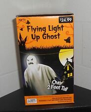 Flying Light Up Ghost Halloween Decoration Over 2 Feet Tall