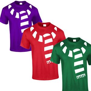 Unisex Novelty Xmas Harry Potter Style T-shirt Scarf Top Festive Gift UK Seller