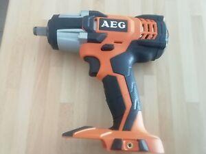 Boulonneuse clé à choc sans fil AEG Bss18c12z-0, 18 V Ah, sans batterie. Neuve