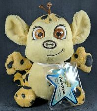 NWT 2008 Series 4 Spotted Mynci Neopets Keyquest Plushie Stuffed Animal w/CODE