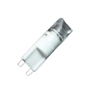G9 LED 2W Lampe Birne Kaltweiß 230V Strahler 130 Lumen 14x46mm dezente Lampe