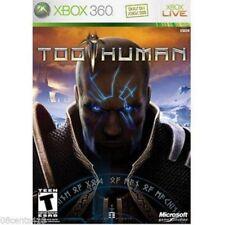 Too Human (Microsoft Xbox 360, 2008) *COMPLETE*