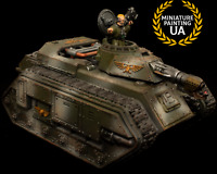 ⭐️ WH40K Astra Militarium Hellhound Conversion Painted Assembled Tank Commander