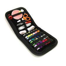 Portable Travel Small Home Sewing Kit Case Needle Thread Tape Scissor Mini Set