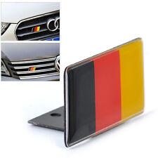 Chrom 3D Deutsche Flagge Emblem Abzeichen Decal Aufkleber Für BMW AUDI VW Golf