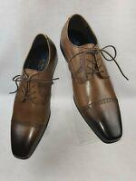 "La Milano ""A11230"" Men's Leather Cap Toe Oxford Dress Shoes"