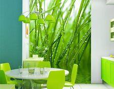 Foto Tapete XXL FRESHNESS mit Motiv natur grüne Pflanzen Frisch Wasser Küche Bad
