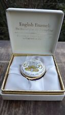 1981 Wedding Prince Charles & Lady Diana Spencer Crummles Enamel Box
