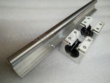 2x SBR20--L675 mm SUPPORTED LINEAR RAIL SHAFT ROD WITH 4 PCS 20 MM SBR20UU
