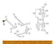 TOYOTA OEM Rear Suspension-Front Lateral Arm Mount Bolt 9008011674
