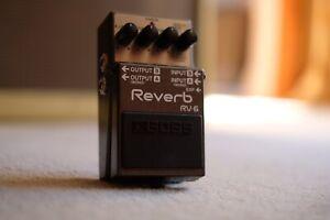 Boss Digital Reverb RV-6, Great Condition.
