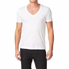 NEW G-Star Raw Men Base V-neck Short Sleeve T- Shirts White