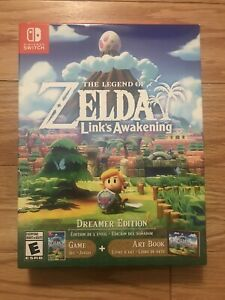 Legend of Zelda Link's Awakening Nintendo Switch Dreamer Edition NEW SEALED A+