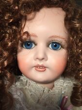 Beautiful Repro Queen Louise Doll Armand Marseille All Bisque/Porcelain 26""