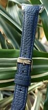 100% AUTHENTIC PANDORA IMAGINE NAVY BLUE GENUINE LEATHER REPLACEMENT WATCH BAND