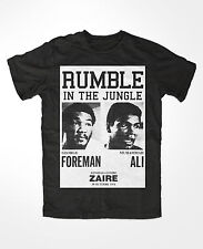 T-Shirt muhammad ali 2 , king of the ring , Boxing , KO, rumble in the jungle