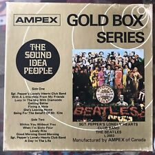 """The Beatles """"SGT. PEPPERS LONELY HEARTS CLUB """" REEL TO REEL 3 3/4 IPS NOT TESTED"""
