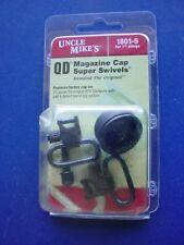 "Uncle Mike's QD Magazine Cap 1"" Sling Swivel Set 1801-5 For Remington 870 20ga"