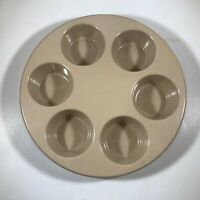 Vintage Anchor Hocking Microware Cupcake Muffin Pan PM447-T1