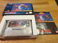 Mighty Morphin Power Rangers Fighting Edition Super Nintendo SNES Boxed OVP CIB