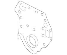 Genuine Ford Timing Cover YC3Z-6019-BA