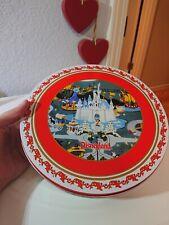 Disneyland Resort 2007 Christmas  Metal Plates And Tin