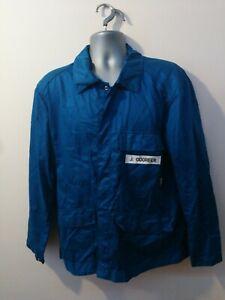 "Ex-rental Welding jacket + bib&braces FR size 42-44"" chest Fabricator #186-187"