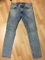 MADE ITALY Mens Diesel THOMMER Stretch Denim 084RF BLUE Slim W32 L32 H6 RRP£150