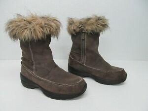 Sorel Women's Northern Lite Tall Insulated Suede Winter Boots Size 7