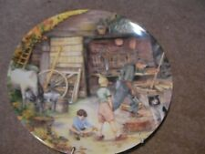 'The Wheelwright' Royal Doulton Bone China Collectors Plate.Stampted .X Con.
