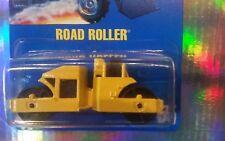 HOT WHEELS ~ ROAD ROLLER RARE #55~VHTF~STD. VARIATION~1991~BLUE CARD