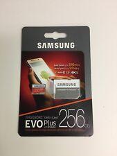Samsung Genuine EVO Plus 256GB microSDXC UHS-I Memory Card (2017 Model)