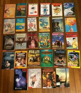 28 books lot 4th 5th 6th grade children's series Teacher+ chapter titles authors