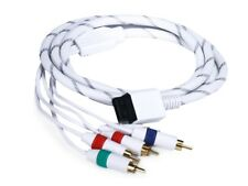 6FT Audio Video ED Component Cable for Wii - White (Net Jacket) NINTENDO