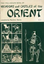 THE PALLADIUM BOOK OF WEAPONS & CASTLES OF THE ORIENT MATTHEW BALENT VF!