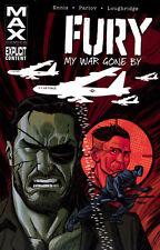 FURY MAX VOL #2 MY WAR GONE BY TPB Garth Ennis, Parlov Marvel MAX Comics 7-13 TP