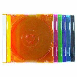 10 X Mini 8CM CD DVD Bremsscheiben Juwelen Hülle Fächer Hülle