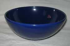 "RED WING   Cobalt Blue    POTTERY BOWL   9-1/2""    Vintage   979"