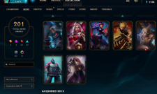 League of legends NA | PAX Sivir + 200 Skins | ALL 141 Champs | 113k BE 3500RP