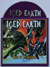 Iced Earth Days Of Purgatory Rare Advance Cardcover CD Metal