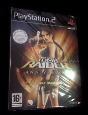 Lara Croft Tomb Raider Anniversary Collectors Ed Playstation PS2 NEU & VERSIEGELT
